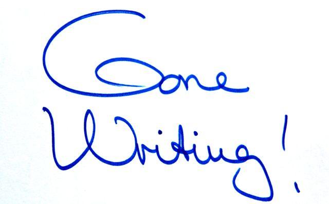 gone writing