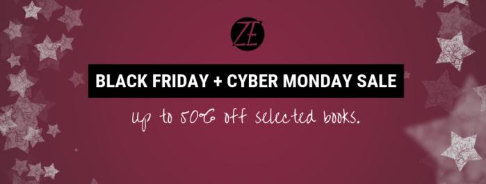 Black Friday + cyber monday sale