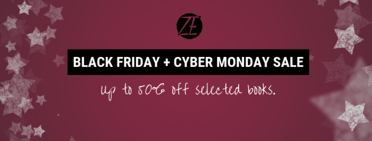 Black Friday + cyber monday sale